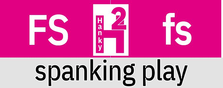 Hanky Code Pair Arrow for spanking play / FUSCHIA