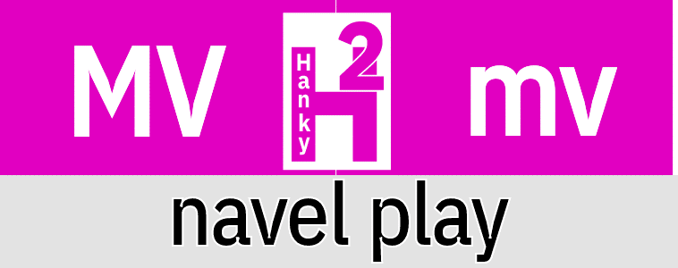Hanky Code Pair Arrow for navel play / MAUVE