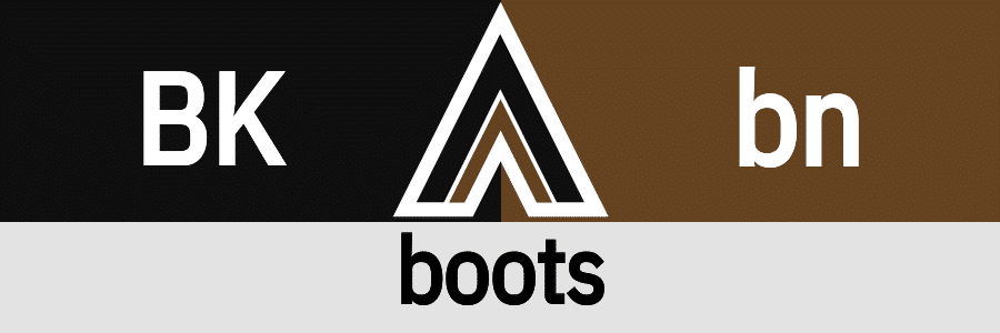 Hanky Code Pair Arrow for boots fetish / BLACK 2 brown
