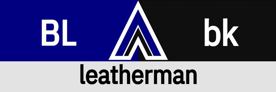 Hanky Code Pair Arrow for leatherman fetish / BLUE 2 black