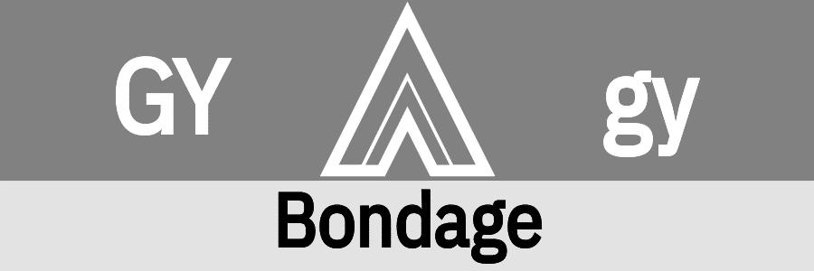 Hanky Code Pair Arrow for Bondage fetish / GRAY