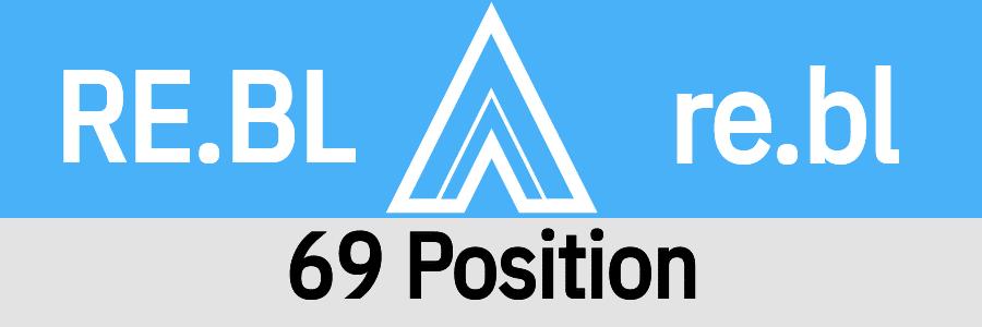 Hanky Code Pair Arrow for 69 Position fetish / robinegg.BLUE